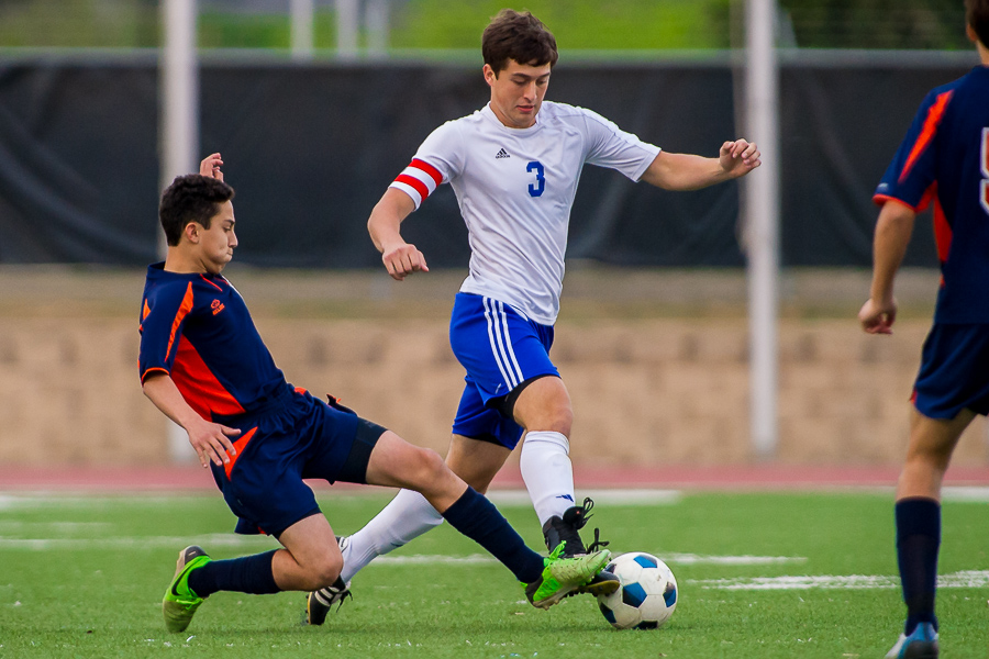 The John Jay Mustangs (4-3-5) upset top ranked Brandeis Broncos (11-0-1) in NISD district play.  More photos of the game are here.