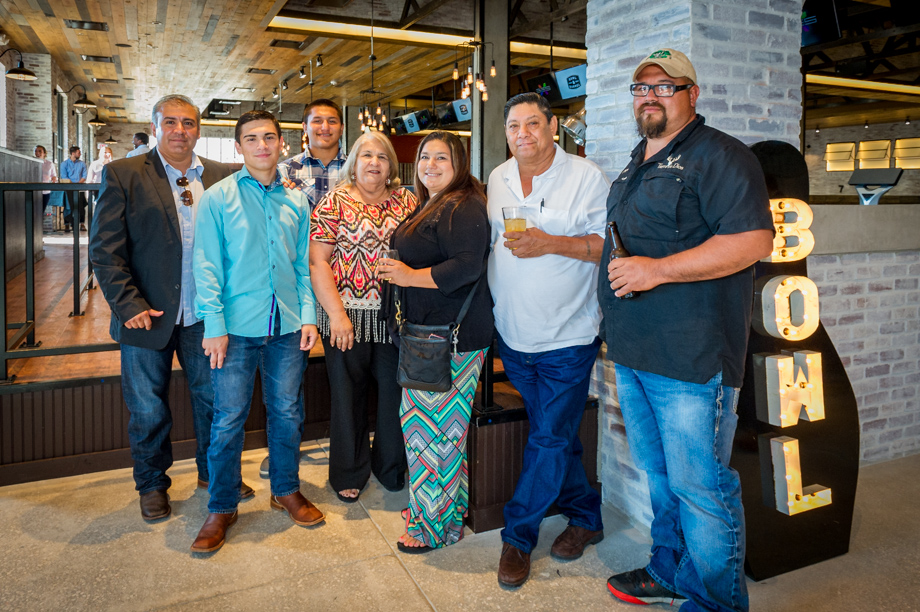 Investors celebrate the opening of Bowl and Barrel in San Antonio.